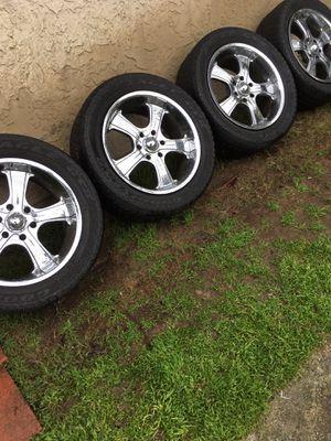 "Photo 20"" rims/wheels & tires 6 - lug pattern"