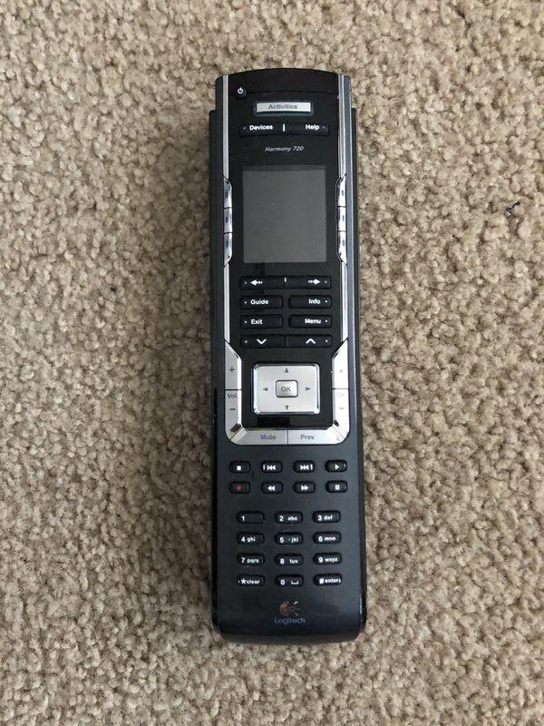 Logitech Harmony 720 TV remote for Sale in Las Vegas, NV - OfferUp