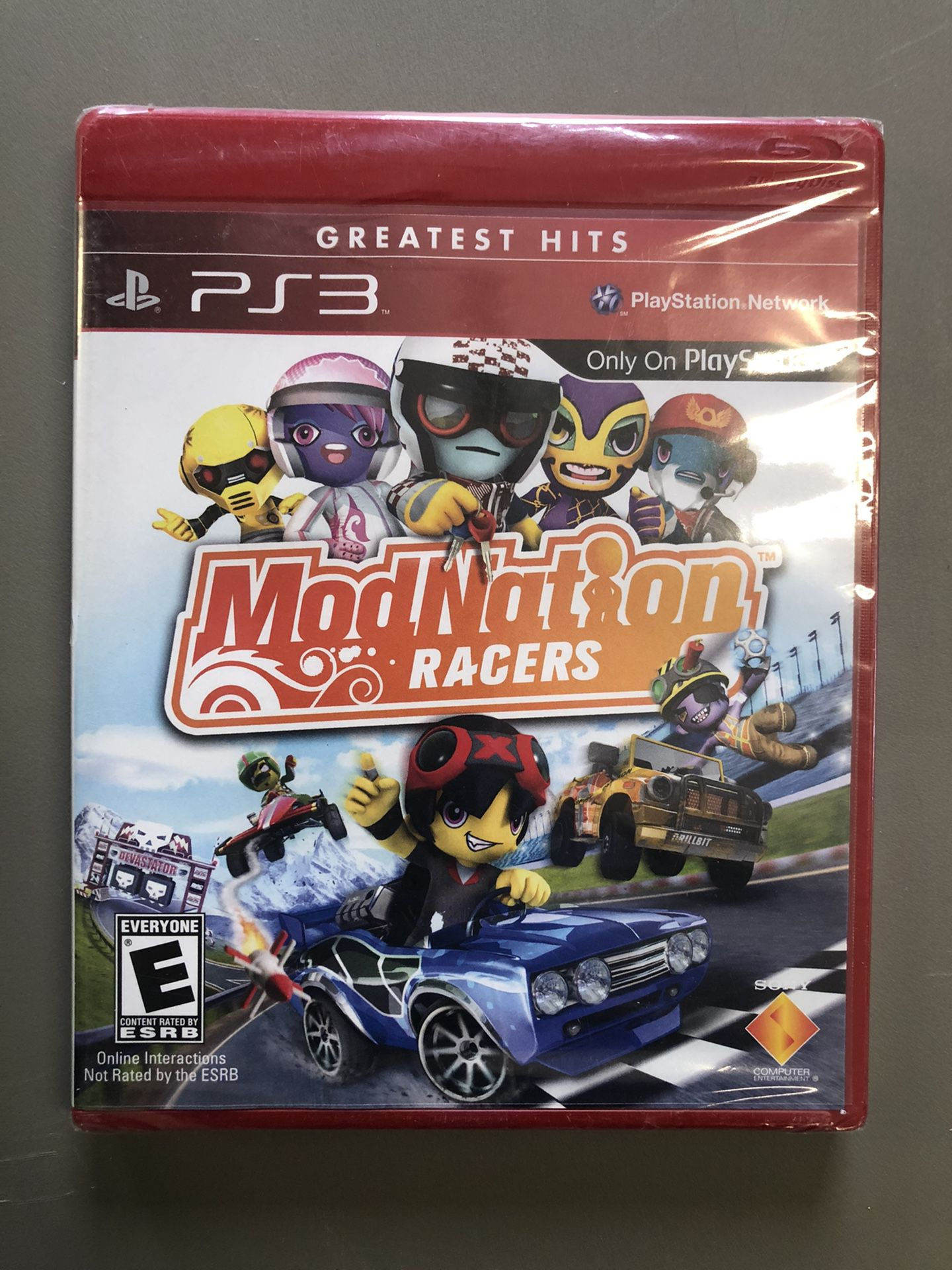 PlayStation 3 ModNation Racers Video Game (New)