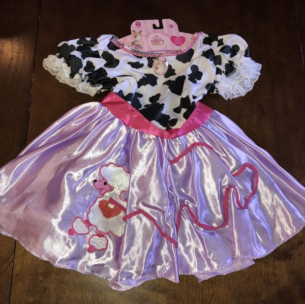 47092f6e5373 New Fancy Nancy Poodle Halloween Costume Dress Girls 4-6X for Sale ...