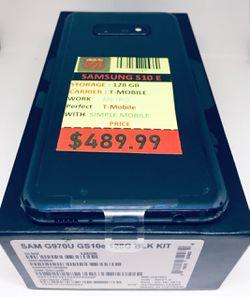 Samsung Galaxy S10E 128GB Thumbnail