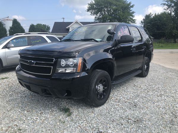 2007 Chevy Tahoe Police Package