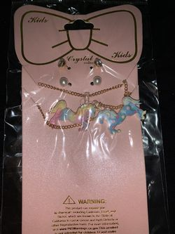 Cute unicorn necklace sets perfect for stocking stuffers Thumbnail