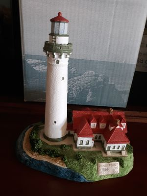 Photo Miniature sculpture Harbour lights Wind Point,Wisconsin