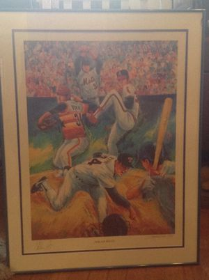 Signed Nolan Ryan (Includes Artist Signature as well for Sale in Pittsburgh, PA