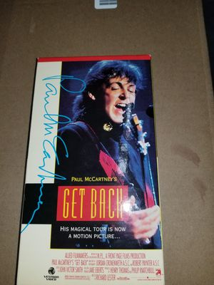 Paul McCartney's VHS for Sale in San Diego, CA