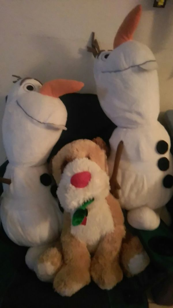 2 Big Olaf And Dog For Sale In Phoenix Az Offerup