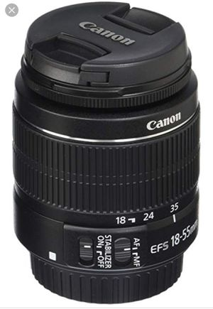 Canon 18-55mm lense for Sale in US