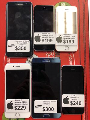 Cell Phone Sale!!! $$$$ iPhone & Samsung for Sale in Arlington, VA