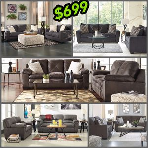 Ashley sofa and loveseat your choice same low price no credit needed no credit needed for Sale in North Smithfield, RI