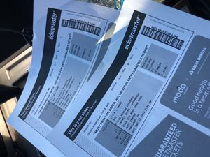 2 Travis Scott tickets seats 1&2 section 117 for Sale in Woodburn, OR
