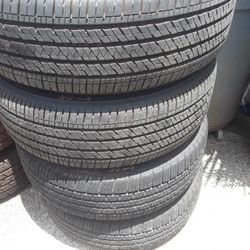 215 65 16 set of 4 toyota sienna tires 320 as is Thumbnail