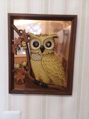 Vintage Copper Craft Guild Owl Wall Decor for Sale in Orlando, FL