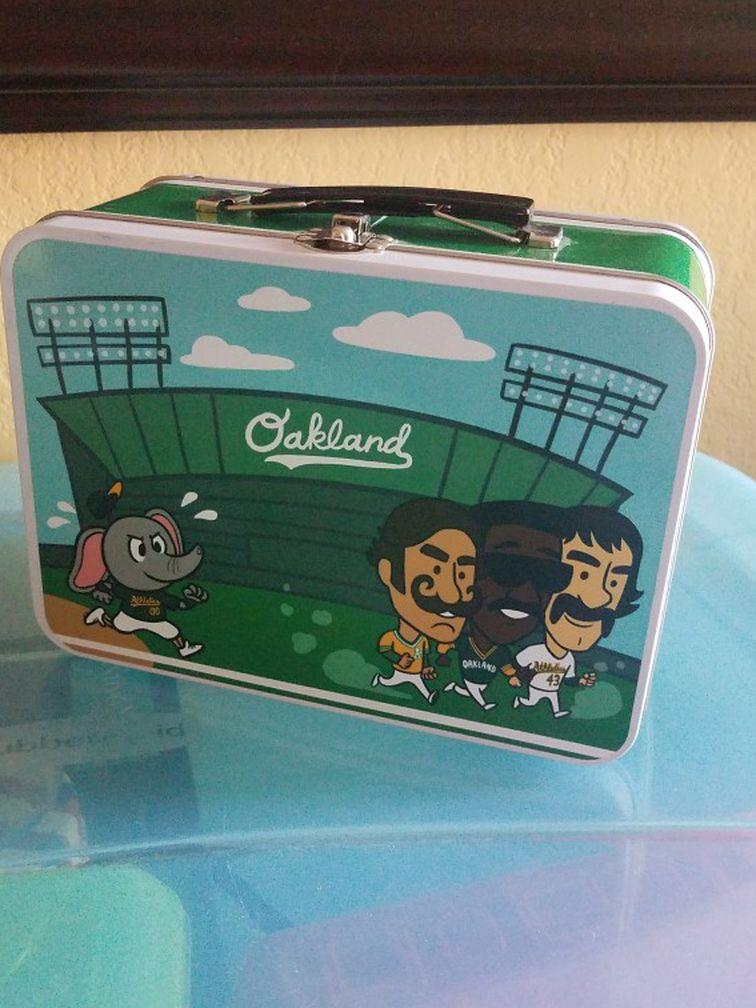 Oakland A's Authentic Fan Lunch Box