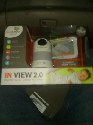 In view baby camera for Sale in Cedar Hill, MO