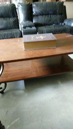 Coffee table, 2 end tables Thumbnail