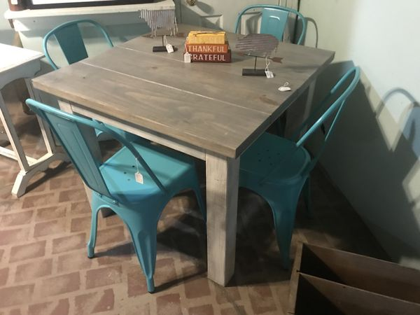 Square Farmhouse Table For Sale In Wilmington Nc Offerup