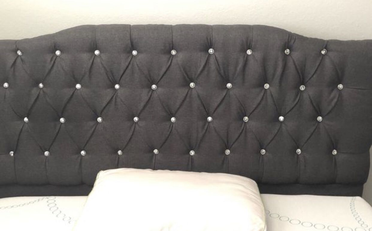 New Bed with head board and bed frames
