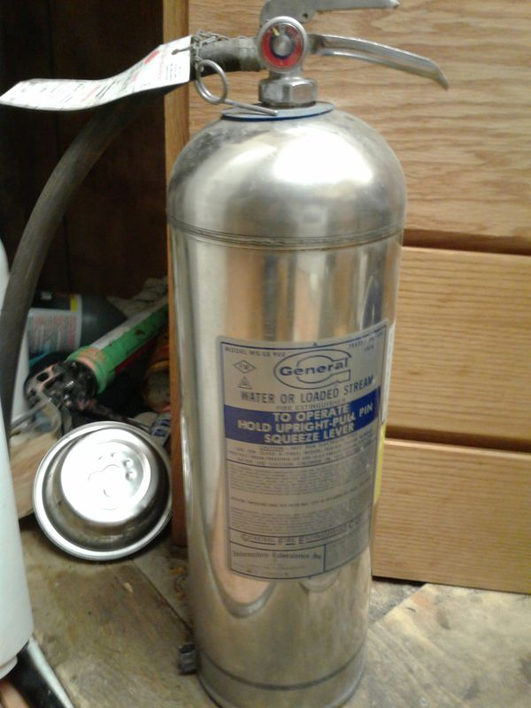 General Water Or Loaded Stream Fire Extinguisher For Sale