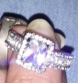 3 silver rings Thumbnail