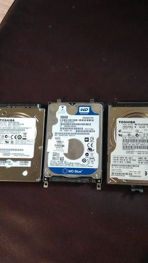 Disk drive's for laptop for Sale in Federal Way, WA