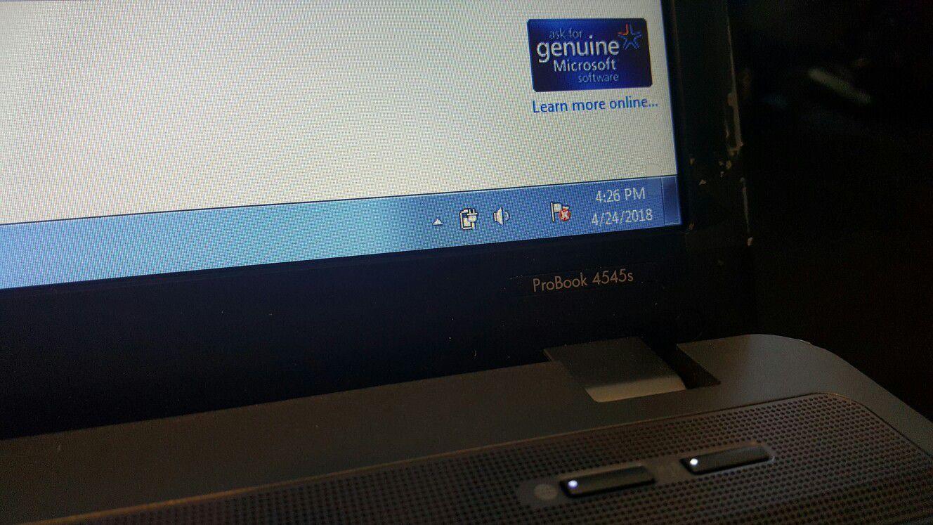 "HP ProBook 4545s AMD Vision Pro 16"" Screen,"