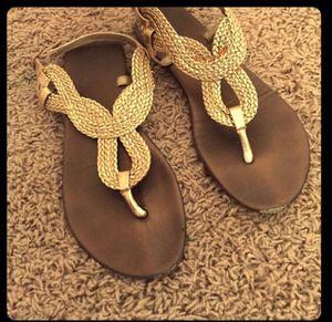 Gold sandals for Sale in Nashville, TN