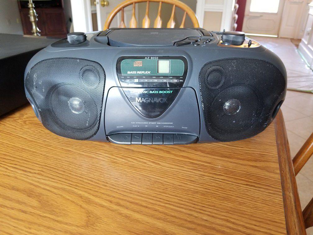Magnavox AM/FM Radio w CD player