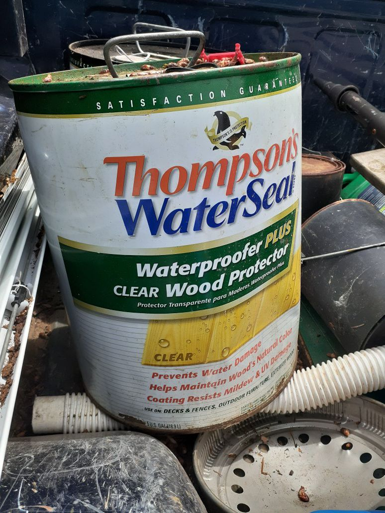 2 Thompson water seal used