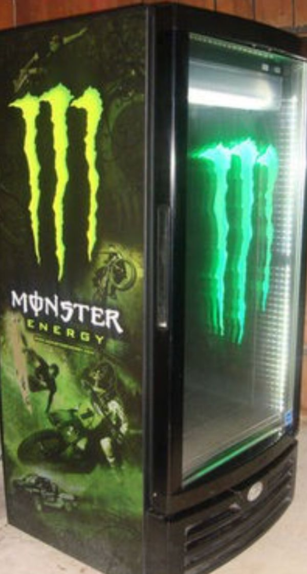 Wonderbaarlijk Monster Energy Fridge G10 for Sale in Durham, NC - OfferUp RH-91