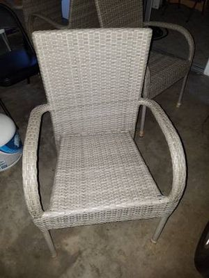 Patio set with 4 chairs for Sale in Corona, CA