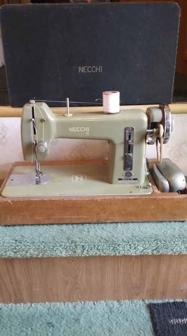 Necchi BF Mira Sewing Machine Serial AA40 For Sale In Midland New Necchi Bf Mira Sewing Machine