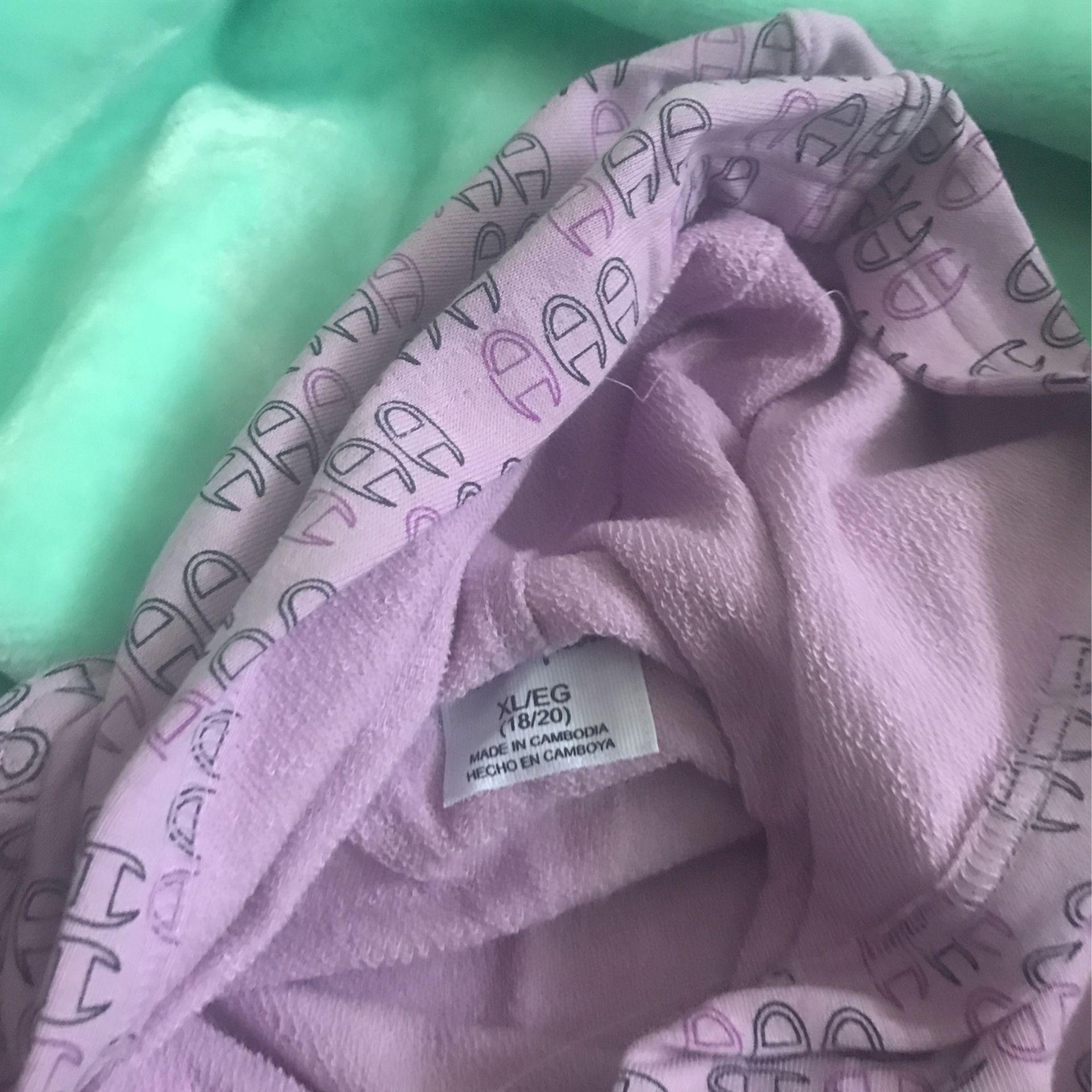 Girls Light Purple Sweater