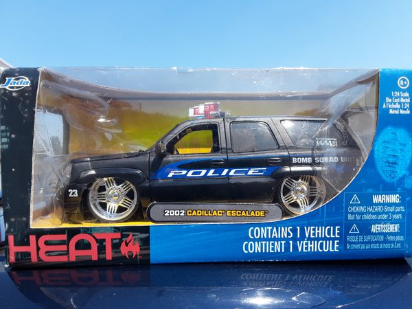 Jada Toys 2002 Cadillac Escalade police truck for Sale in Torrance, CA -  OfferUp