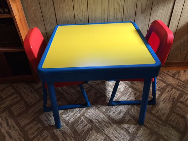 Fisher Price Arts And Crafts Table Chairs For Sale In Bloomingdale Il Offerup