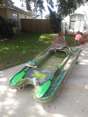 4x8 Bass hunter set up. for Sale in Orlando, FL