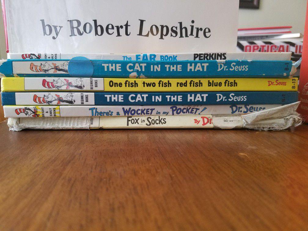 Books - Dr. Seuss (Good Condition)