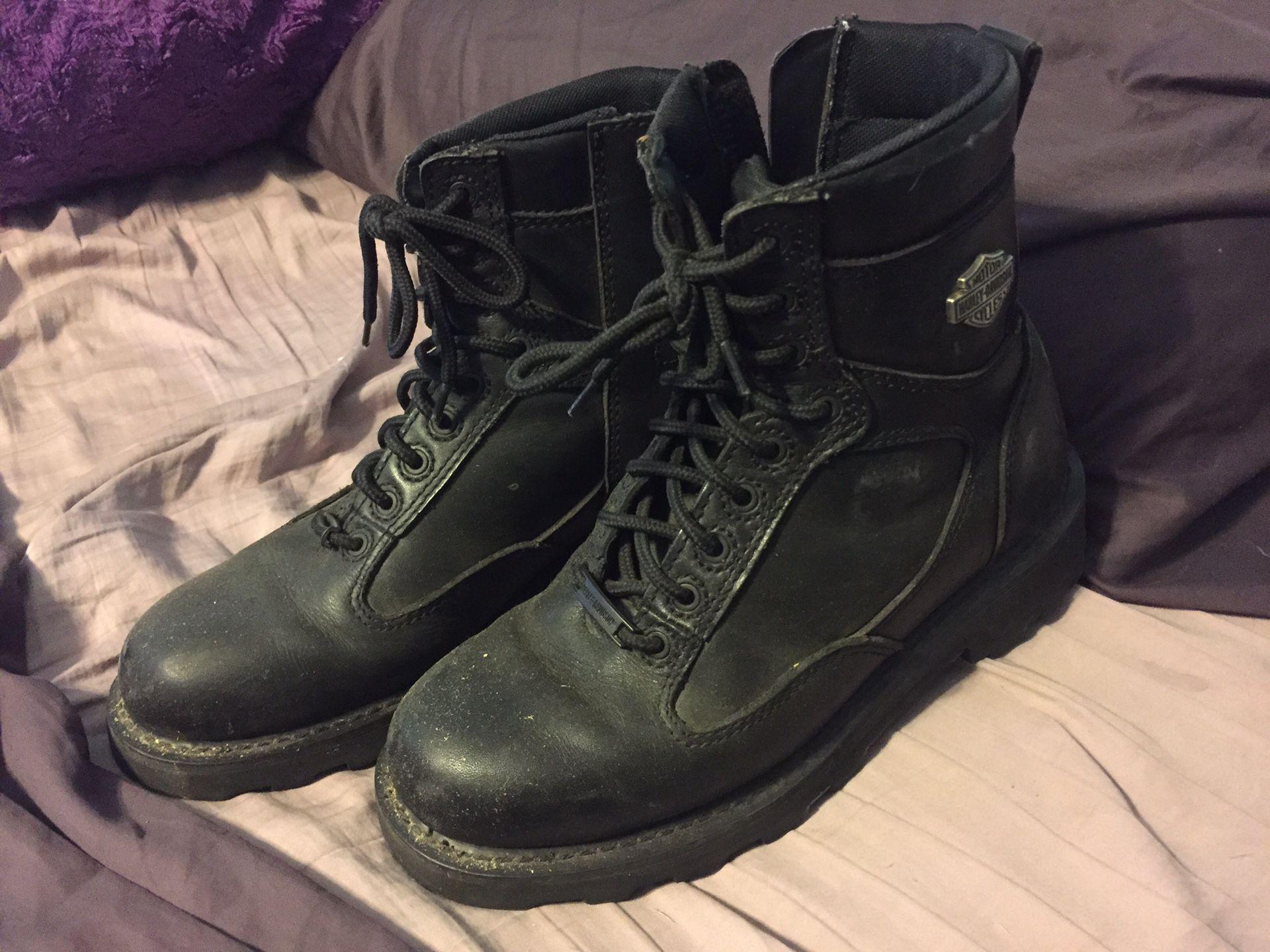Photo Mens Harley boots