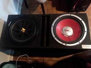 2 12s box for Sale in St. Louis, MO
