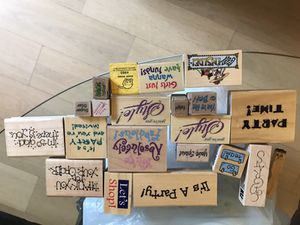 Various rubber stamps for Sale in New York, NY