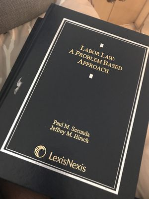 Labor law: a Problem based approach book isbn:978-1-4224-8530-9 for Sale in Ashburn, VA