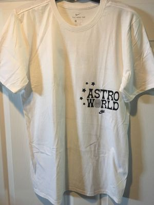 Nike x Astroworld Travis Scott Nike SS Tee 3 White Size MEDIUM for Sale in Amherst, OH OfferUp