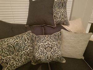 7 reversible throw pillows. Brand new for Sale in Johnstown, CO