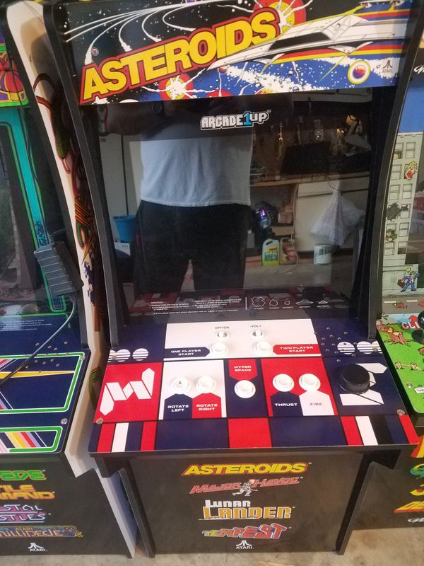 Arcade 1up Asteroids mini arcade game 4 feet tall for Sale in Fort Worth,  TX - OfferUp