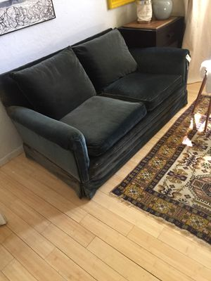 Vintage Velvet Sofa Down Filled For In Albuquerque Nm
