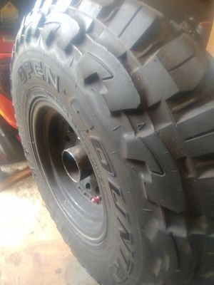 Photo 31x10.50 R15 Open Country Single Tire.