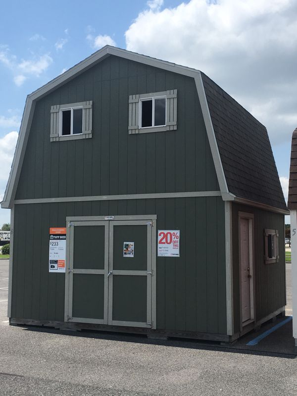 Tuff Shed Tb800 2 Story Building At Home Depot For Sale In Broussard La Offerup