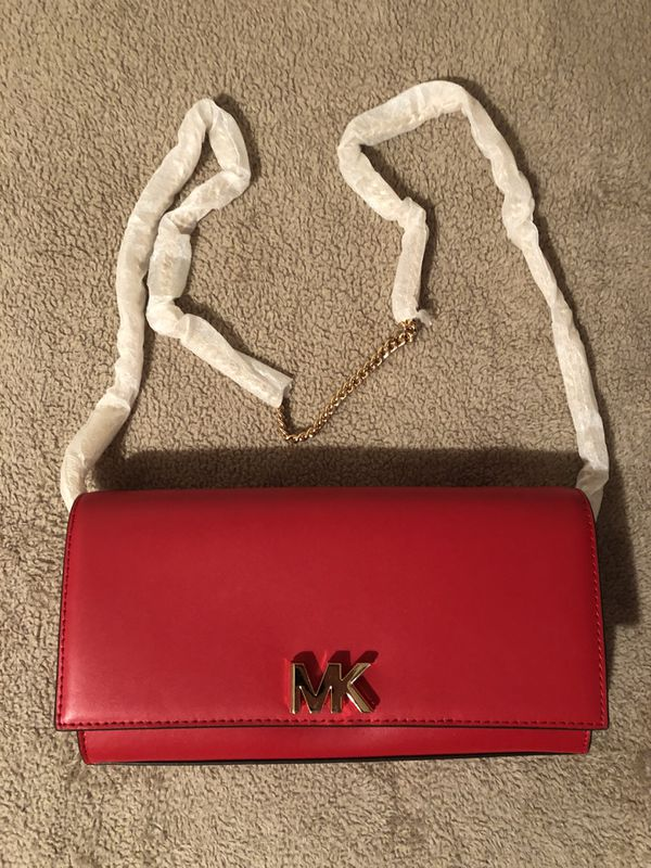 77f075f7c96d Michael kors mott leather chain wallet for Sale in Moreno Valley, CA ...