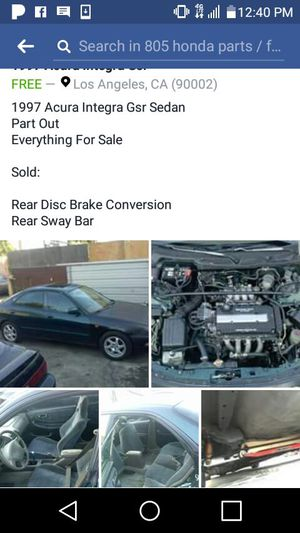 New And Used Acura Parts For Sale In Carson CA OfferUp - 1997 acura parts