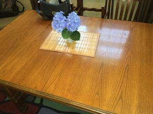 Oak wood dining table for Sale in Richmond, VA